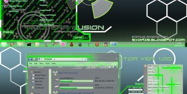 Win 7 Theme Nuclear Fusion
