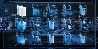 W7 Blue Neon