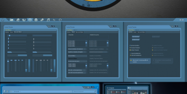Borderlands theme for Windows 7