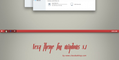 Nexa Theme For Windows 8.1