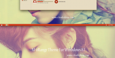 M-orange Theme For Windows 8.1
