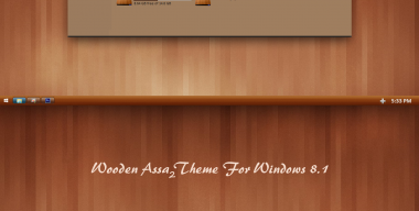 Wooden Assa Theme Windows 8.1
