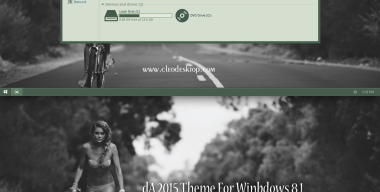 deviantART 2015 Theme For Windows 8.1