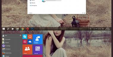 lne Theme Windows 10 Technical Preview