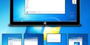 Aero 7 Theme for Windows 10 RTM