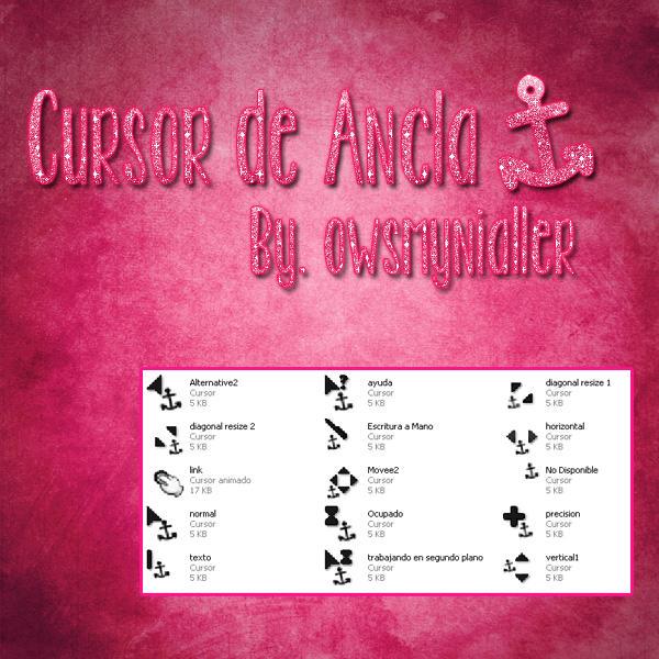 Cursor de Ancla
