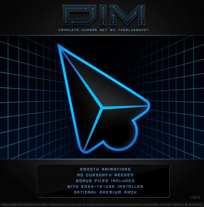DIM v2.0 - Курсоры для Windows