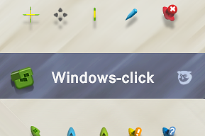Windows-click