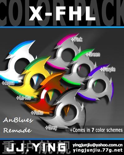 X-FHL Color Pack