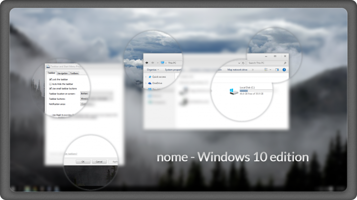 nome - Темы для windows 10
