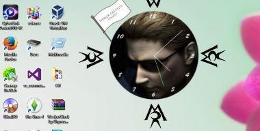 Часы-скринмейт Альберт Вескер (Resident Evil)