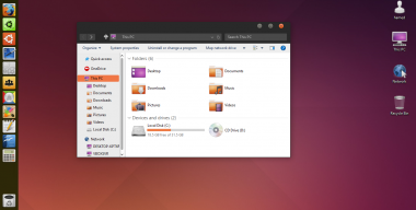 Ubuntu theme for Win10