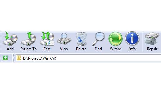Windows 7 WinRAR theme by Breaz Mihai Florin