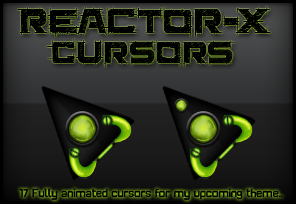 New Reactor-X Cursors - Курсоры для Windows