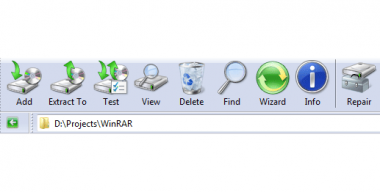 Windows 7 WinRAR theme by Breaz Mihai Florin
