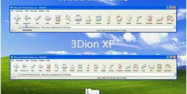 3Dion XP WinRAR theme