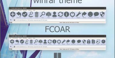 FCOAR WinRAR theme