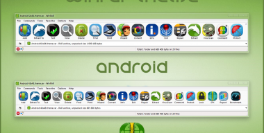 Android WinRAR theme
