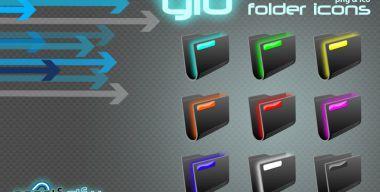 Folder Glo icons