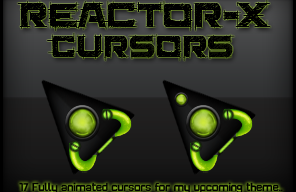 New Reactor-X Cursors