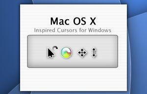 Mac OS X Inspired Cursors