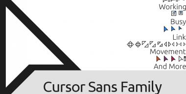 Cursor Sans Family v1.5