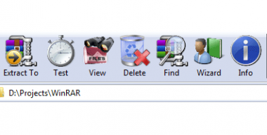 Roger's WinRAR theme version 2.1