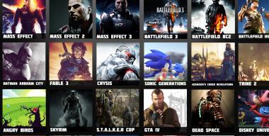 Metro games icons
