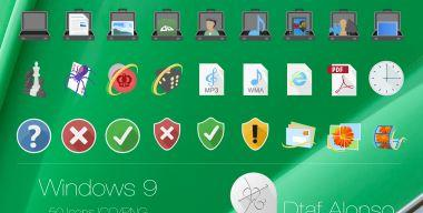 Windows 9 Icons