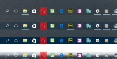 Как изменить прозрачность панели задач в Windows 10