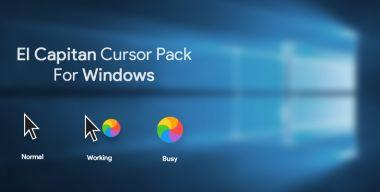 Mac Os El Capitan Cursor Pack for Windows