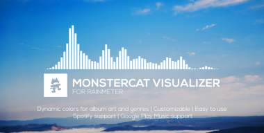Monstercat Visualizer