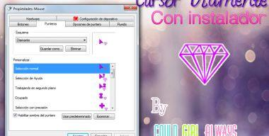 Cursor de Diamante