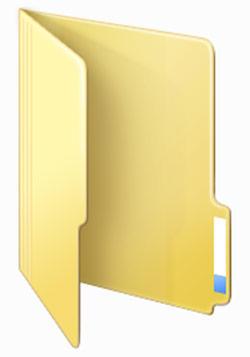 Как заменить иконку для папки