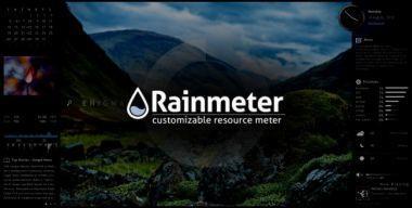 Как установить скин Rainmeter