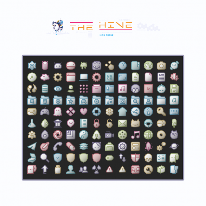 The HIVE Icons