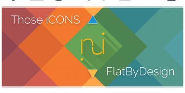 Those iCONS vs FlatByDesign