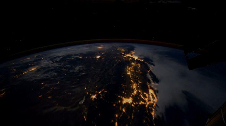 Earth from ISS - Живые обои Космос