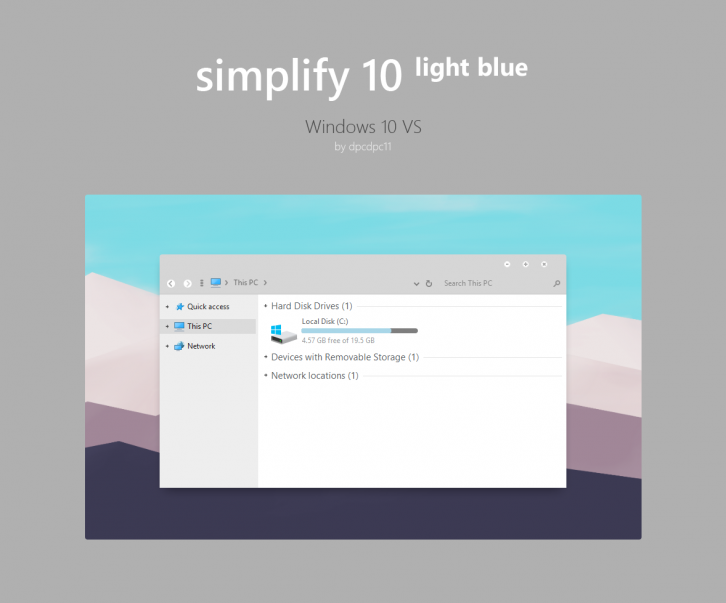 Simplify 10 Light Blue
