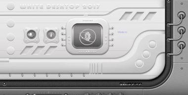 Desktop white