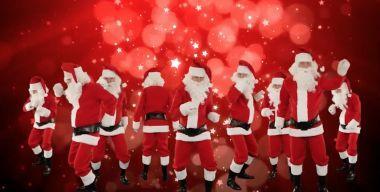Dancing Christmas Santa