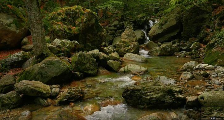 Горная река - Живые обои Природа
