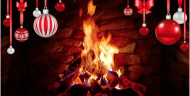 Christmas Campfire Live Wallpaper