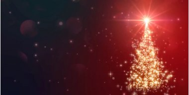 Christmas Tree SNow Flakes Live Wallpaper