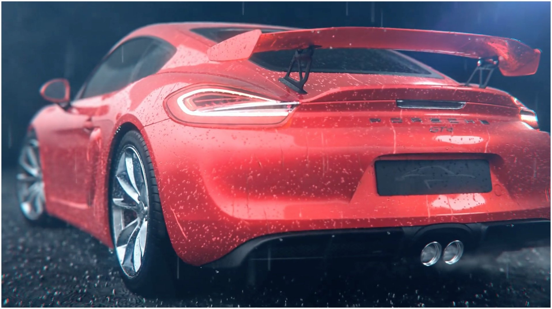 Porsche Cayman Gt4 3d Animated Windows Wallpaper - Живые обои Техника