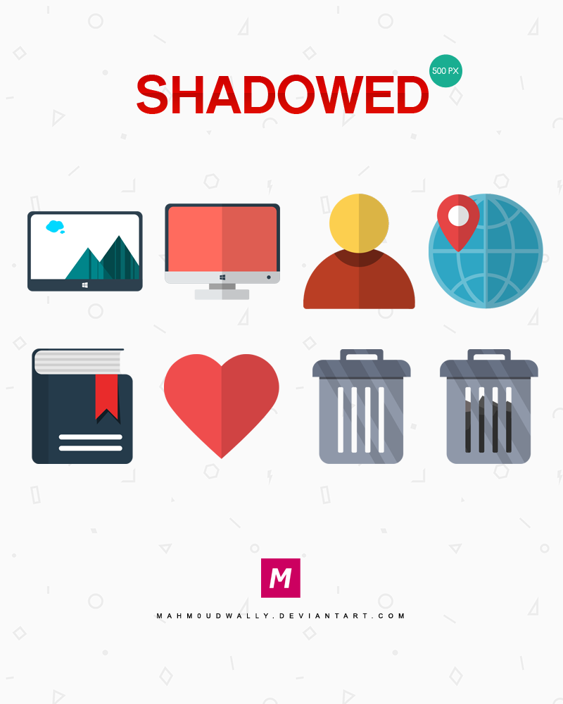 Shadowed - Иконки для Windows