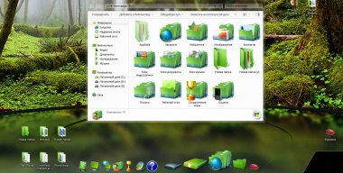 Green Memory IconPack