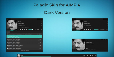 Paladio Dark skin for AIMP