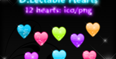 D Lectable Hearts