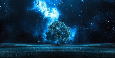 Night Stars Tree